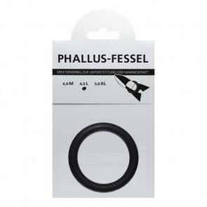 AMARELLE Phallusfessel, Rubber Cockring, L, black