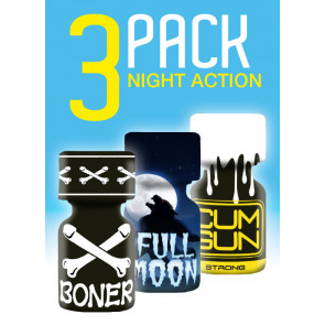 Night Action - 3 Pack