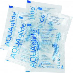 JoyDivision AQUAglide Water Based Lubricant, 3 ml, 500 Portions