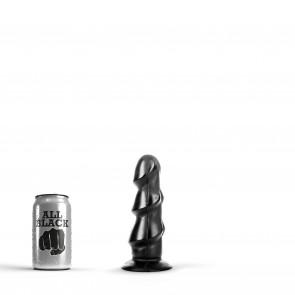 ALL BLACK Butt Plug, Vinyl, 17 cm (6,75 in)