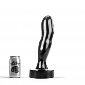 ALL BLACK Butt Plug AB88, Vinyl, Black, 32 cm (12,5 in)