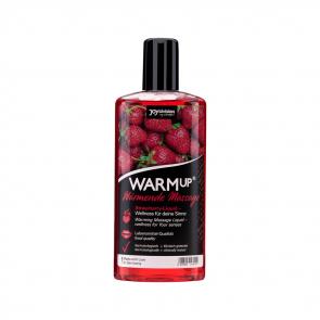 JoyDivision WARMup Warming Massage Liquid, Strawberry, 150 ml (5,1 fl.oz.)