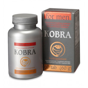 Cobeco Kobra for Men, Sexual Health Supplement, 60 Tabs