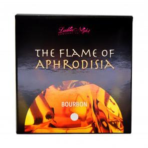 The Flame of Aphrodisia, Massage Candle, Bourbon, 165 g (5,8 oz.)