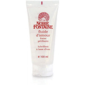 Noire Fontaine Fluide D'Amour Fraise (Strawberry), Water Based Lubricant, 100 ml (3,4 fl.oz.)
