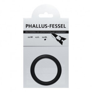 AMARELLE Phallusfessel, Rubber Cockring, XL, black