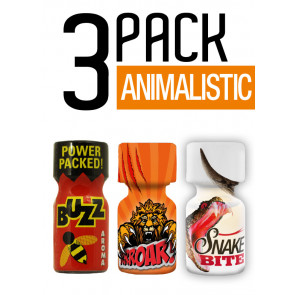 Animalistic - 3 Pack