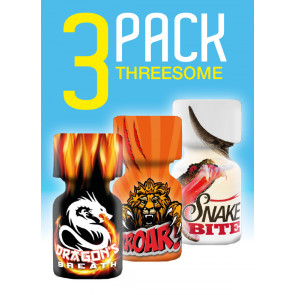 THREESOME Mix 3-Pack