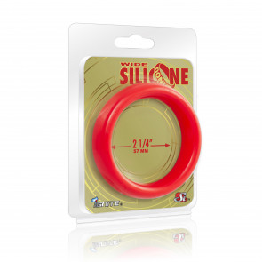 SI IGNITE Wide Silicone Donut 5,7 cm (2,25 in), Red